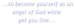 ...to become yourself as an